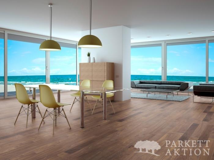 klebediele nussbaum natur lackiert de parkett. Black Bedroom Furniture Sets. Home Design Ideas