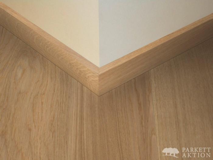 parkett landhausdielen und vinylboden online shop sockelleisten modern cube eiche hell natur. Black Bedroom Furniture Sets. Home Design Ideas