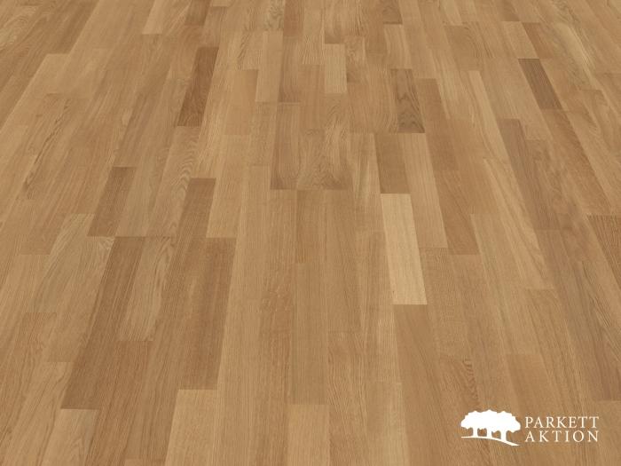 3 stab parkett eiche natur lackiert mit klick system de parkett. Black Bedroom Furniture Sets. Home Design Ideas