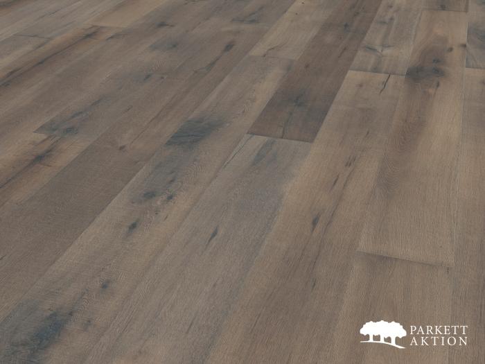 landhausdiele eiche grau treibholz optik rustikal ge lt li parkett. Black Bedroom Furniture Sets. Home Design Ideas
