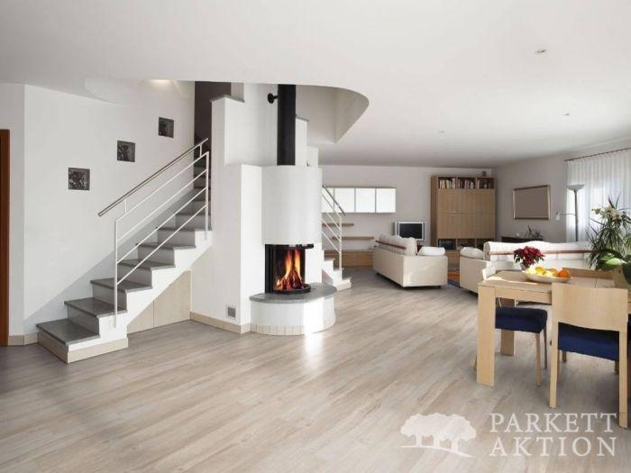vinylboden eiche sugar geb rstet mit klicksystem in holzoptik de parkett. Black Bedroom Furniture Sets. Home Design Ideas