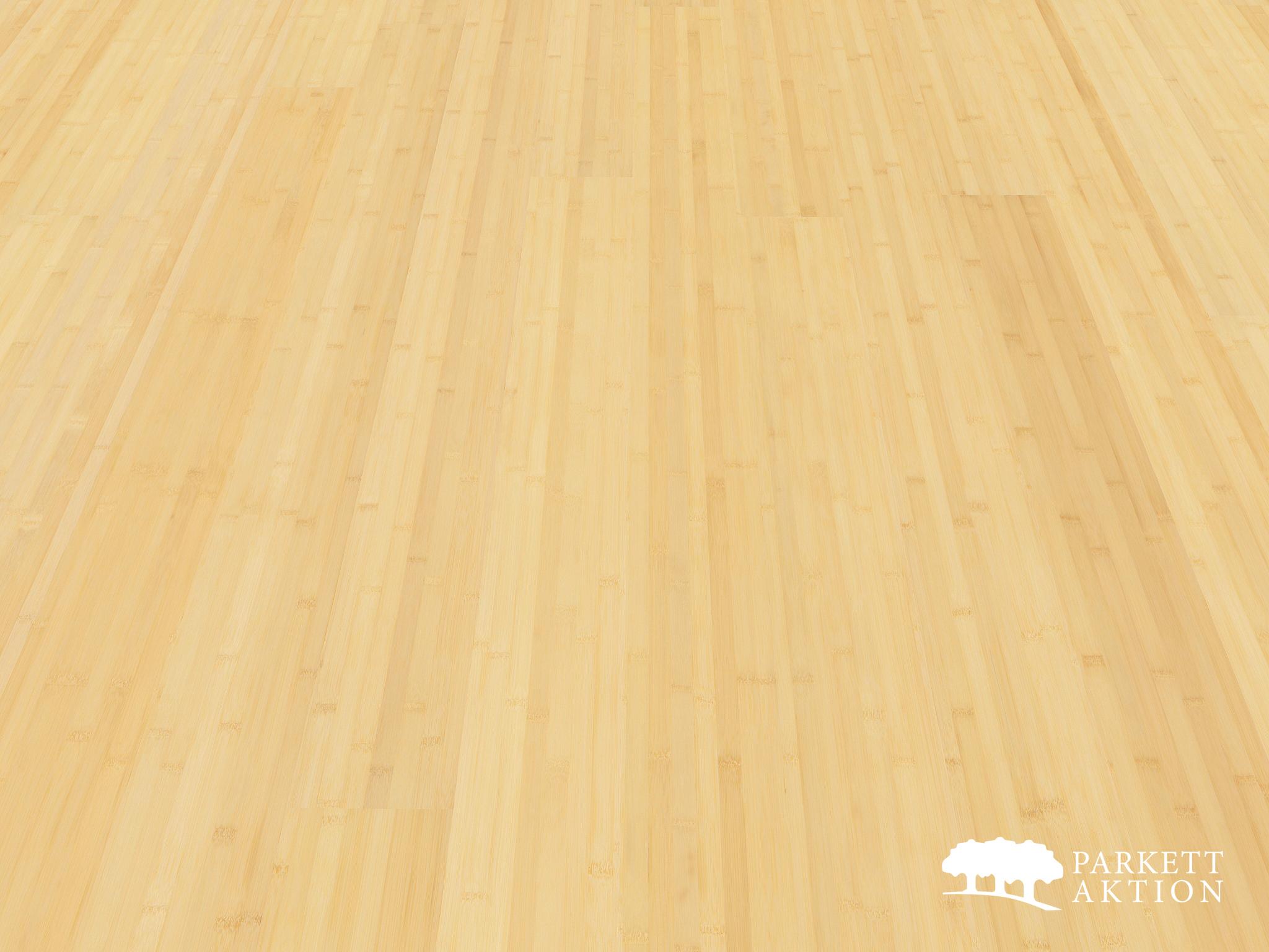 Super Bambusparkett naturhell lackiert - Parkett Aktion - DE - parkett JQ71