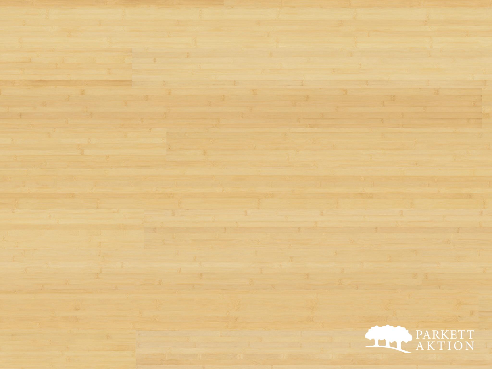 Extrem Bambusparkett naturhell lackiert - Parkett Aktion - DE - parkett AE74