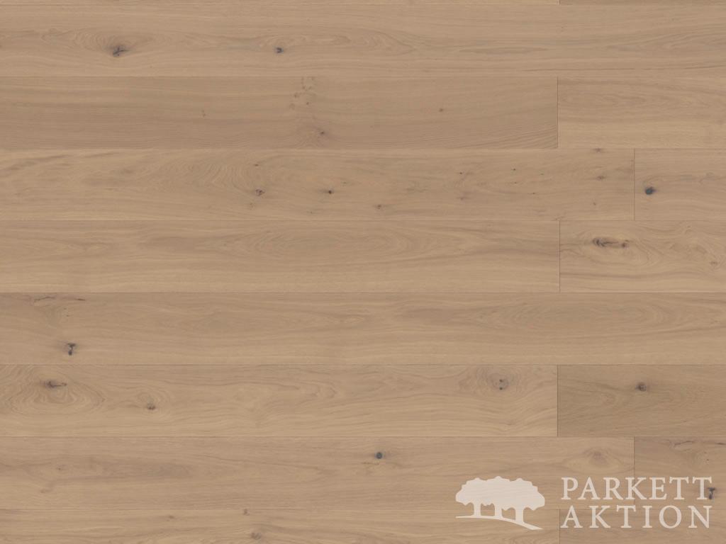 landhausdiele eiche hell astig geb rstet weiss matt lackiert de parkett. Black Bedroom Furniture Sets. Home Design Ideas