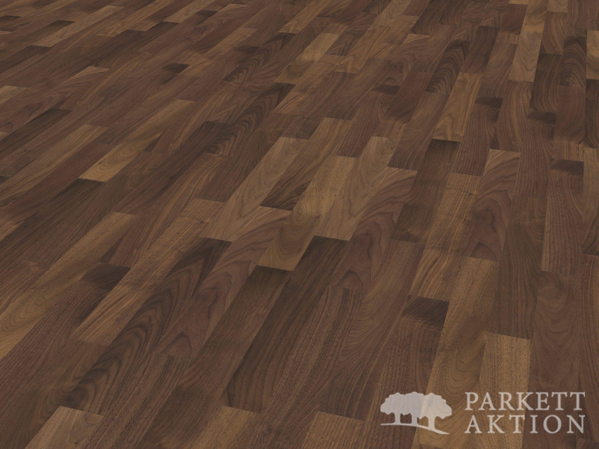 2 schicht parkett nussbaum natur lackiert li parkett. Black Bedroom Furniture Sets. Home Design Ideas