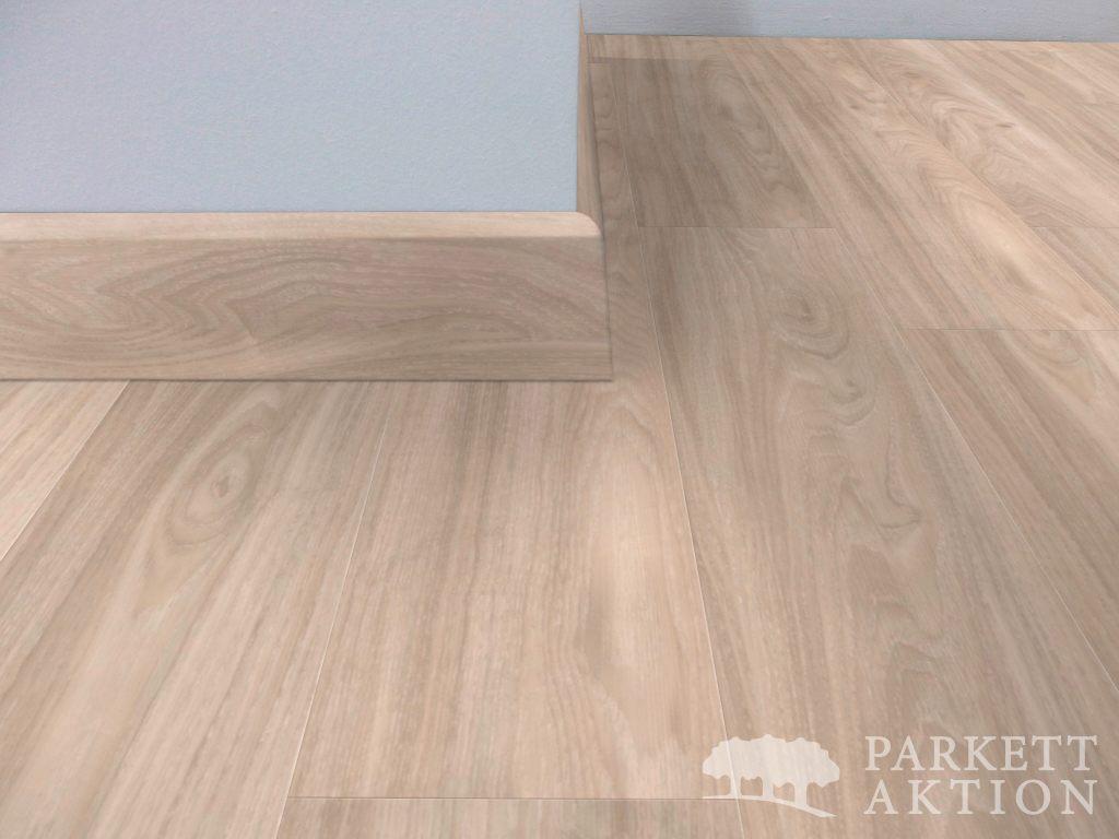 sockelleisten vinyl eiche pearl white matt lackiert. Black Bedroom Furniture Sets. Home Design Ideas