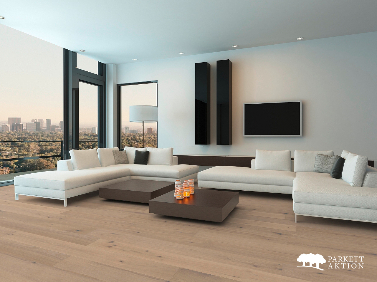 landhausdiele eiche astig markant geb rstet weiss ge lt. Black Bedroom Furniture Sets. Home Design Ideas