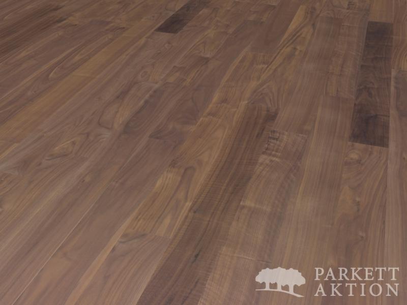 2 schicht fertigparkett diele nussbaum natur ge lt xl. Black Bedroom Furniture Sets. Home Design Ideas