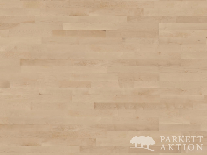 3 stab parkett ahorn natur lackiert mit klick system. Black Bedroom Furniture Sets. Home Design Ideas